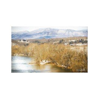 Oh Shenandoah Canvas Print