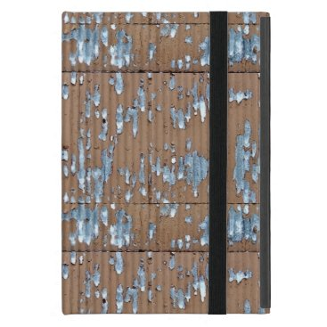 Old Corrugated metal Case For iPad Mini