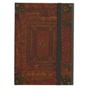 Old Leather And Brass Book Cover