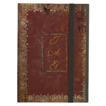 Old Leather Victorian Style Book Cover