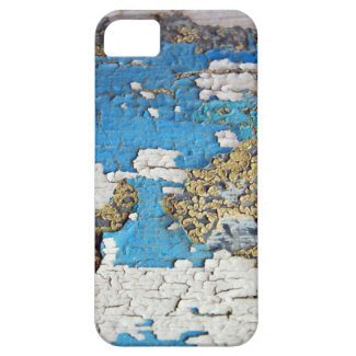 Old Painted Wood iPhone 5 Cover