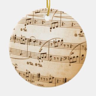 Sheet Music Christmas Ornaments Amp Sheet Music Ornament
