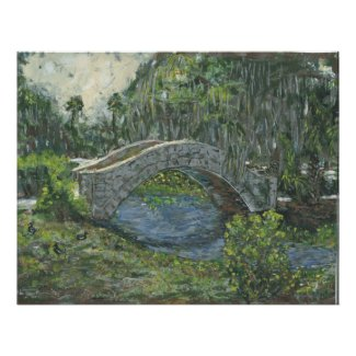 Old Stone Bridge, New Orleans, LA print
