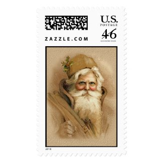 Old World Santa 2 stamp