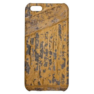 Old yellow wall iPhone 5C cover