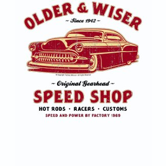 Older & Wiser 001 shirt