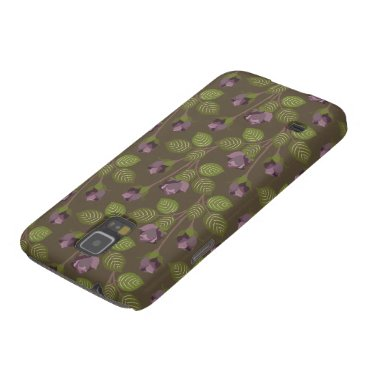 Olive Pretty Purple Flowers Samsung Galaxy Nexus Galaxy S5 Cover