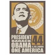obama one america t-shirt