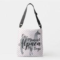 One Moment Alpaca My Bags | Llama