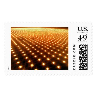 One thousand candles postage stamps