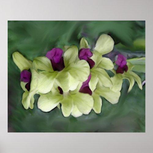 Orchid Print print