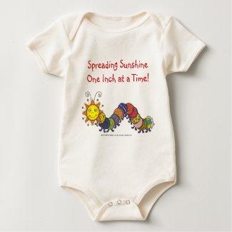 Organic Onesie - Sunpillar shirt