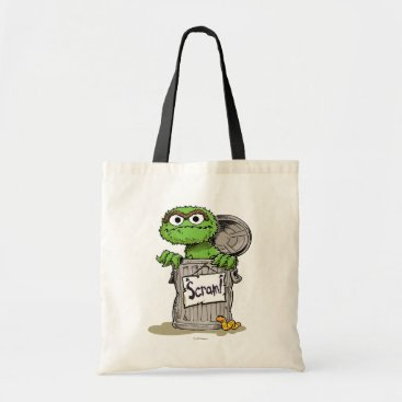 Oscar the Grouch Scram Tote Bag