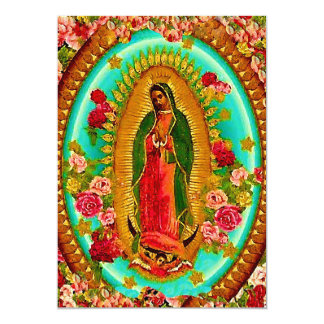Virgin Of Guadalupe Invitations & Announcements | Zazzle