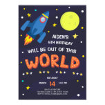 Out Of This World Birthday Party Invitation