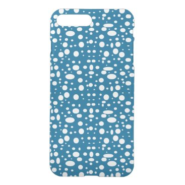 Oval polka dots white iPhone 8 plus/7 plus case