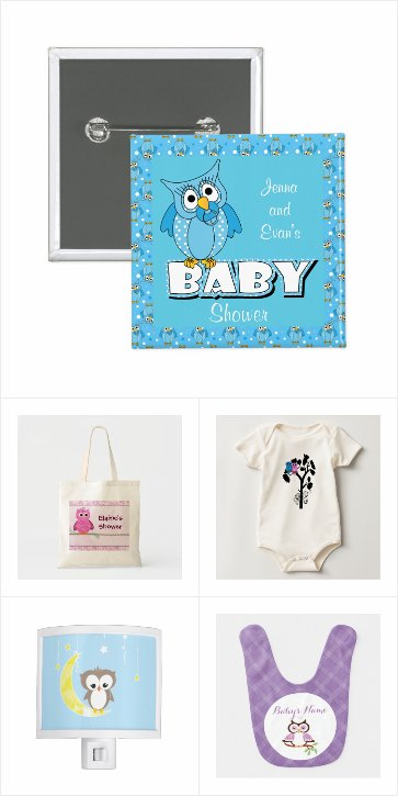 Owl Themed Baby Shower Gifts