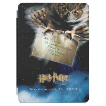 Owl with Letter Movie Poster iPad Air Cover
