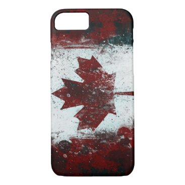 Painted Canadian Flag iPhone 8/7 Case