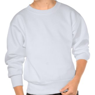 Painted Wolf Grayscale Blue Eyes Pull Over Sweatshirts