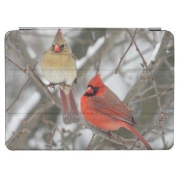 Pair Of Northern Cardinals iPad Air Cover
