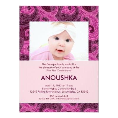 Annaprasan Invitation Card | PaperInvite