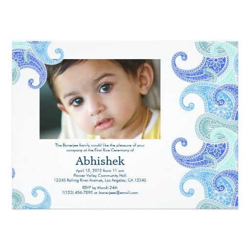 Personalized Hindu Ceremony Invitations