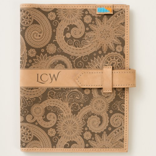 Paisley Monogram Journal