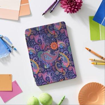 Paisley Purple pink iPad Air Cover