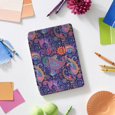 Paisley Purple pink iPad Pro Cover