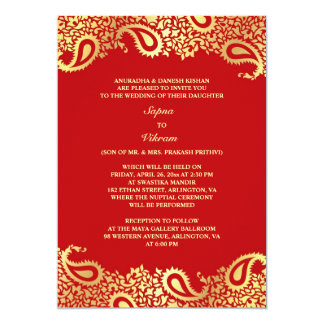 Indian Traditional Wedding Invitation