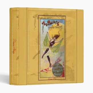 Palace Theatre of Varieties Vinyl Binder
