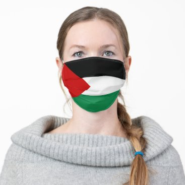 Palestine Flag Cloth Face Mask