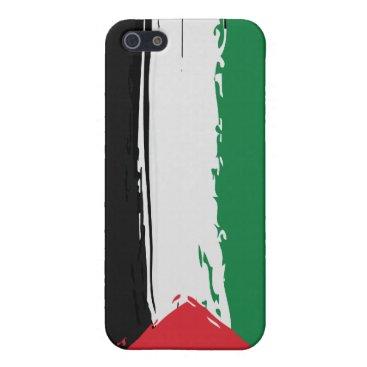 Palestine Grunge Flag iPhone case