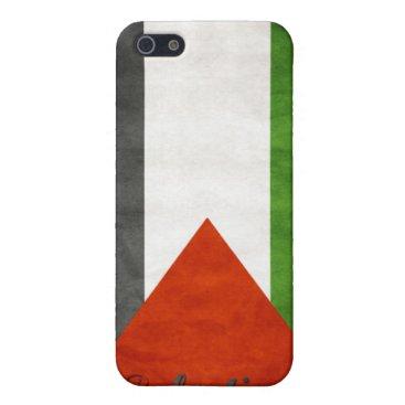 Palestine Retro Flag iPhone SE/5/5s Cover