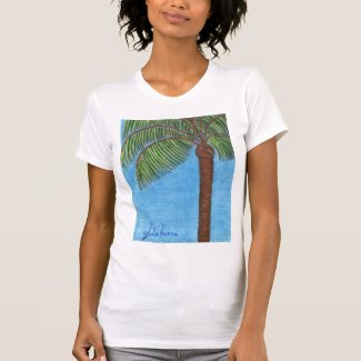 Palm Tree Shirt by Julia Hanna
