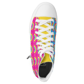 Pansexual Rainbow LGBT Pride Printed Shoes