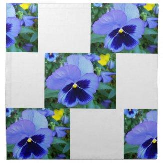 Pansies - CricketDiane Floral Spring Flower Napkin napkin