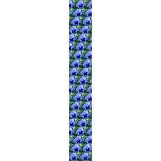 Pansies - CricketDiane Photographic Floral Art tie