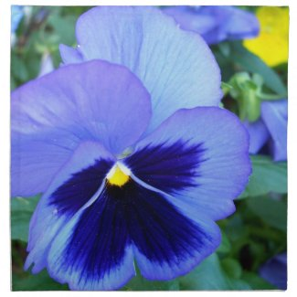 Pansy Designer Table Dinner Napkins Spring Flowers napkin