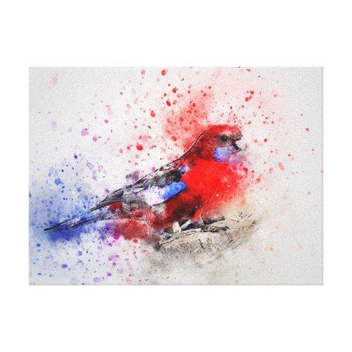 Parakeet Canvas Print