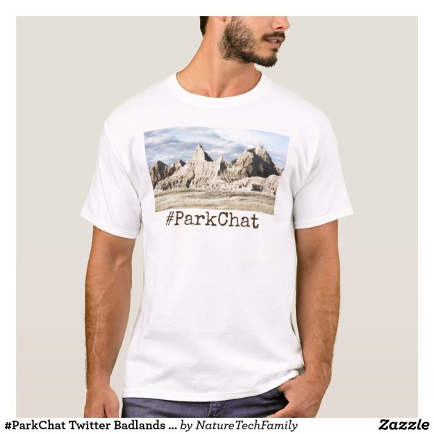 #ParkChat Twitter Badlands T-Shirt