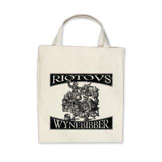 Party Animal- Wynebibber- Grocery Bag