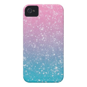 Pastel Ombre Glitter iPhone 4 Cover