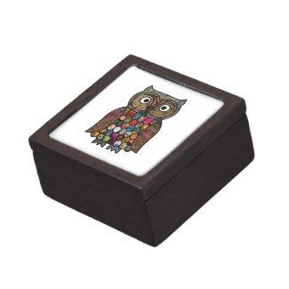 Patchwork Owl planetjillgiftbox