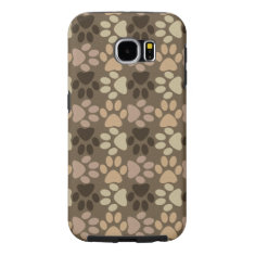 Paw Print Design Samsung Galaxy S6 Case