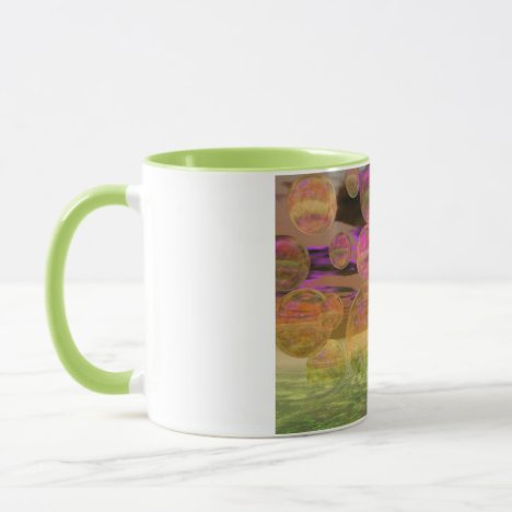 Peace in the Storm – Violet and Amber Tranquility Mug