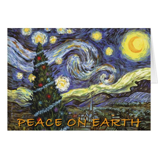 Peace On Earth Holiday Card Zazzle
