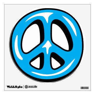 Retro Hippie Peace Sign Vinyl Decal