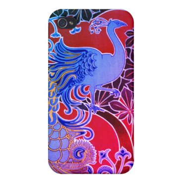 Peacock Case For iPhone 4